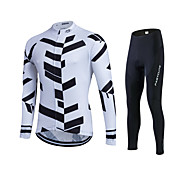 Spring Autumn Long Sleeve Cycling Jersey Sets Breathable Gel Padded Bicycle Sportswear Outdoor Sweat Cycling Clothings