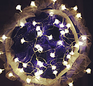 100-LED 10M Roses Light Waterproof  Plug Outdoor Christmas Holiday Decoration Light LED String Light