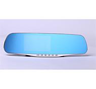 Gift 2.8 Inch Rearview Mirror Tachograph 1080P HD Anti Glare Screen Recorder