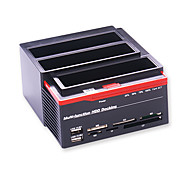 Multi-Function Hdd Docking 2.5 3.5 Ide  Sata Hard Disk Housing Usb2.0 Hard Disk Housing Hdd Enclosure Random Color