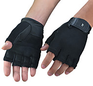 Fitness Exercise Equipment Training Weightlifting Gloves Men Riding Cyling Sport half Finger Gloves 1 Pair