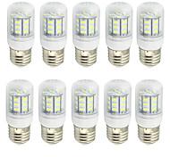 4 E26/E27 LED лампы типа Корн T 27 SMD 5730 280 lm Тёплый белый / Холодный белый Декоративная AC 85-265 / 9-30 V 10 шт.