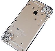 просверлить двойной цветочным узором жесткий чехол для iPhone 6 Plus