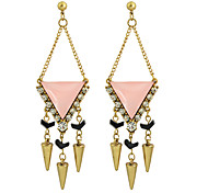 New Fashion Rhinestone Long Chandelier Earrings