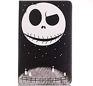 For Samsung Galaxy Tab A 7.0 Full Body Card Holder Wallet Skull PU Leather Hard Case Cover