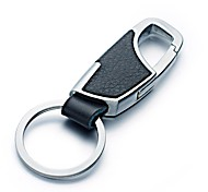 ZIQIAO Metal Car Standard Key Ring Key Chain Gift Noble for Car Styling