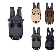 Cat / Dog Carrier & Travel Backpack / Front Backpack Pet Carrier Portable / Breathable Black / Blue / Brown / Gray / Beige Nylon
