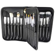 29 Makeup Brushes Set Professional / Portable Wood Face/Eye / Lip Black