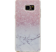 Gradientenmusters hoher Permeabilität tpu Material Telefonkasten für Samsung Galaxy Note 5