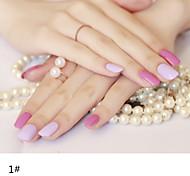 Powder Color Purple Jump Nail Stickers