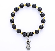 Bracelet Chain Bracelet Others Alloy Halloween Birthday Business Gift Wedding Party Jewelry Gift Black,1pc