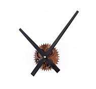 Retro Style Creative Retro Gear Mute Wall Clock
