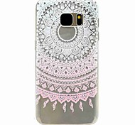 For Samsung Galaxy S7 edge S7 Pink Pattern Case S5 Mini S5