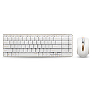 Rapoo wireless mouse keyboard combo 9160 Ultra-thin multimedia keyboard mouse 1000DPI for Apple mac Keyboard Style