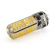 6W G6.35 Luces LED de Doble Pin T 72 SMD 2835 460 lm Blanco Cálido / Blanco Fresco Decorativa V 1 pieza