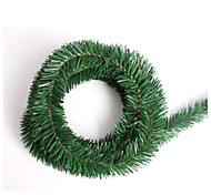 New Diy 5.5M Christmas Tree Ornament Garland Ribbons For Party Wedding Marriage Room Decorations