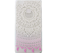 For Huawei Ascend P9 P9Lite P8Lite Case Cover Lace Flowers Pattern Painting Super Soft TPU Material