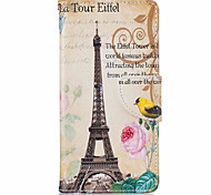 Tower Pattern Leather PU Leather Material Leather Phone Case for  Huawei P9 P9 Lite  Y5II  Y6II 5A
