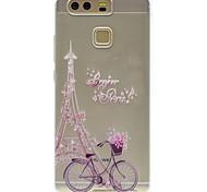 Tower Pattern High Permeability TPU Material Phone case forHuawei P9 Lite P9 P9 Plus  P8 Lite Honor V8  Honor 8