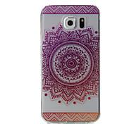 Для samsung galaxy s7 край s7 розовые цветы узор высокая проницаемость tpu материал телефон случай