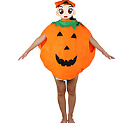 1PC Halloween Pumpkin Clothes And  Pumpkin Hat Costume Party