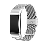 SnowCinda Fitbit Charge 2 Strap Band Replacement Stainless Steel Bracelet Strap Wristband for Fitbit Charge 2