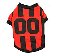 Classic Soccer Sports Clothes for Pet Sport Style Clothing