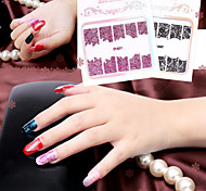 5PCS/SET Nail Art Sticker  Lace Sticker   Pattern Is Random