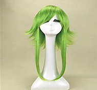 di alta qualità anime vocaloid gumi camelia Megpoid parrucca cosplay contro alice parrucca termoresistente verde