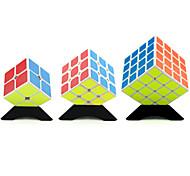Yongjun® Smooth Cube Velocità 2*2*2 / 3*3*3 / 4*4*4 Velocità / Livello professionale Allevia lo stress / Cubi Bianco Adesivo Smooth