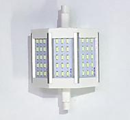 R7S 78mm 45x 3014SMD 6W Warm White / Cool White 600LM 220Beam Horizontal Plug Lights  Flood Light AC85-265V