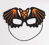 (Pattern is Random)1PC Hallowmas  Mask  Stick Costume Party