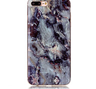 Для IMD Кейс для Задняя крышка Кейс для Мрамор Мягкий TPU AppleiPhone 7 Plus / iPhone 7 / iPhone 6s Plus/6 Plus / iPhone 6s/6 / iPhone
