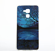 Scenery Pattern TPU IMD Soft Case for Huawei Honor 7 5C 5X 4A V8 Y560