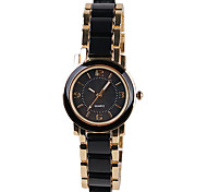 Simple Fashion Black Alloy With Girls Watch