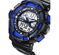SANDA Couple's Smart Watch Sport Military Style Waterproof Sport Japanese Quartz Watches Shock  Relogio Digital Watch