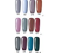 Gray Color Gel Nail Polish UV&LED Lamp Gel Salon Gel