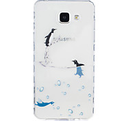 Dolphin Pattern Tpu Material Highly Transparent Phone Case For Samsung Galaxy A3(2016) A5(2016)