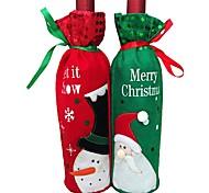 1pcs saco de garrafa de vinho garrafa de vinho natal