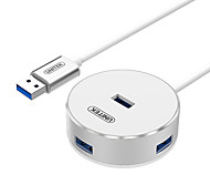 UNITEK  USB 3.0 Splitter Cable USB3.0 to USB3.0*4 OTG Splitter Cable