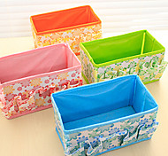 Jewelry Organizers Jewelry Boxes Desktop Receive A Case Fashion Cotton Cloth (Random Colours)