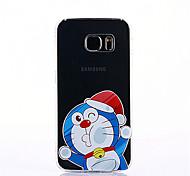 Doraemon для samsung galaxy s7 край корпус мультфильм рисунок мягкий ультратонкий tpu задняя крышка s7 s6 s6 край s6 край plus