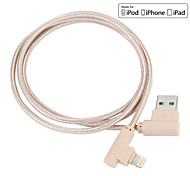 JDB® USB 3.0 Braided Nylon Cables 100cm