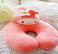 Travel Pillow Breathability Static-free Antibacterial U Shape for Travel RestGray Yellow Coffee Blushing Pink