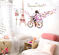 People Wall Stickers Plane Wall Stickers / Mirror Wall Stickers Decorative Wall Stickerspvc Material Removable