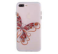 Per Custodia iPhone 7 / Custodia iPhone 7 Plus / Custodia iPhone 6 Fosforescente / Effetto ghiaccio / Traslucido / Fantasia/disegno