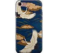 For iPhone 7 Case / iPhone 7 Plus Case / iPhone 6 Case Pattern Case Back Cover Case Animal Soft TPU AppleiPhone 7 Plus / iPhone 7 /