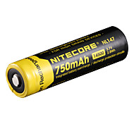 NITECORE NL147 750mAh 3.7V 2.8Wh 14500 LI-ION BATTERY