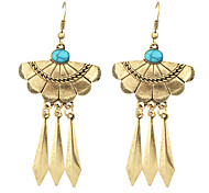 New Tibetan Style Long Spike Statement Earrings for Women