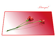 Rose Red Large Mouse Pad sewing version    400*900*3mm